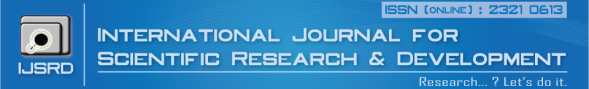International Journal For Scientific Research & Development